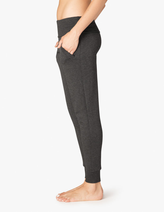 Cozy Fleece™ Foldover Long Sweatpant