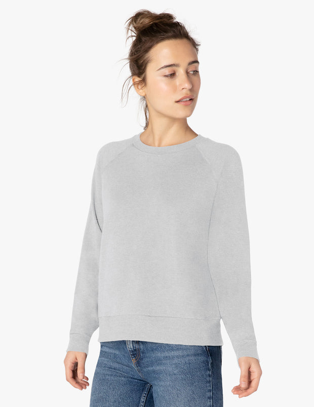 Cozy Fleece™ Favorite Raglan Crew Sweatshirt