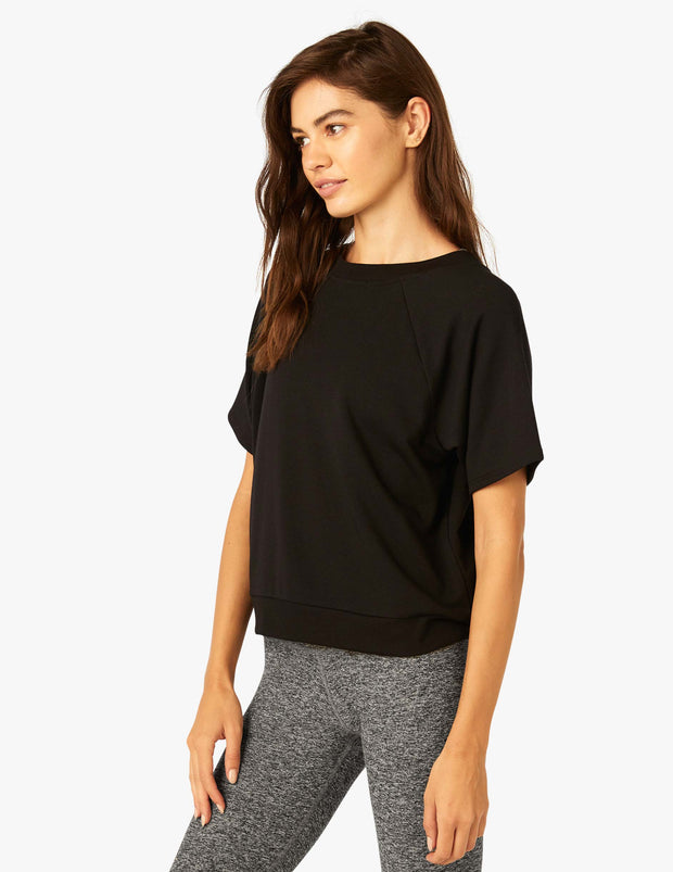 Solid Choice Short Sleeve Pullover