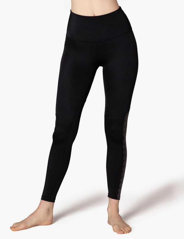 Down The Line High Waisted Midi Legging