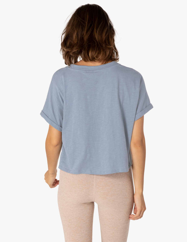 Never Been Boxy Cropped Tee