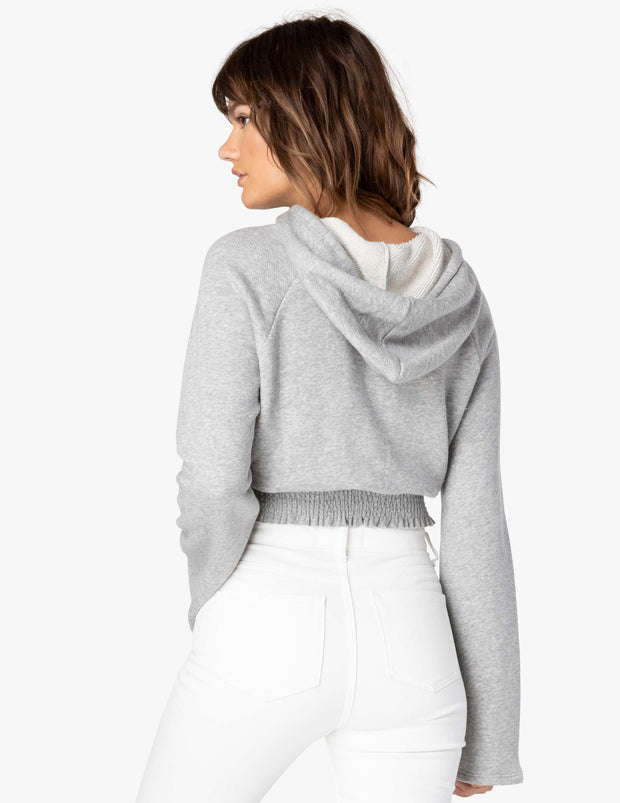 Let's Smock About It Cropped Hoodie