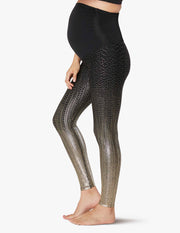 Maternity Drip Drop High Waisted Midi Legging