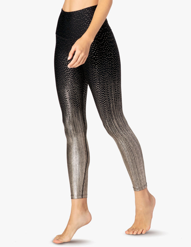 Drip Dot High Waisted Midi Legging