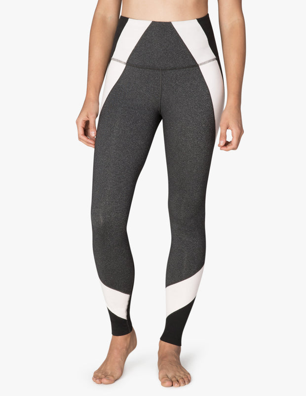 Around The Colorblock High Waisted Midi Legging
