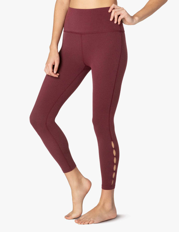 Peek Through High Waisted Midi Legging