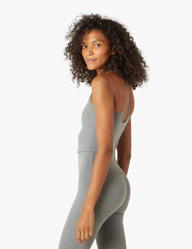 Plush Slim Racerback Cropped Tank