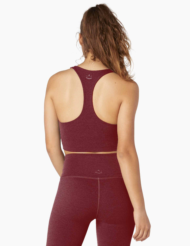 Twist Around Racerback Cropped Tank