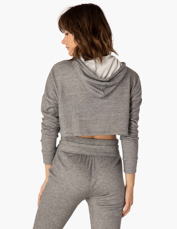 Wonders Never Fleece Cropped Hoodie