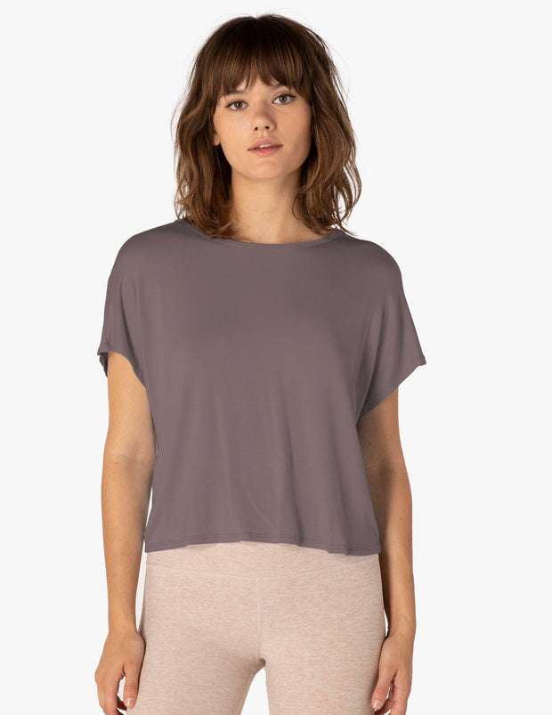 Twist Goodbye Cropped Tee