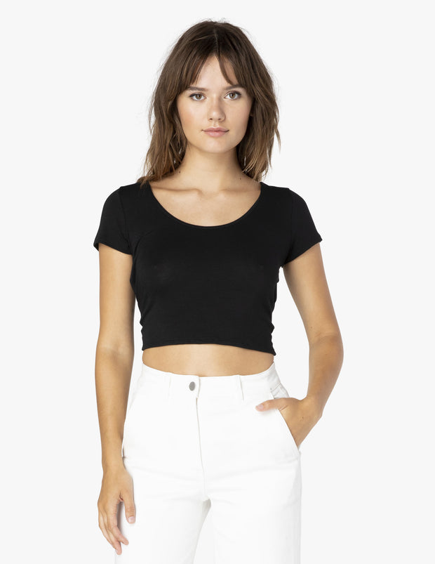 Don't Get It Twisted Reversible Cropped Tee