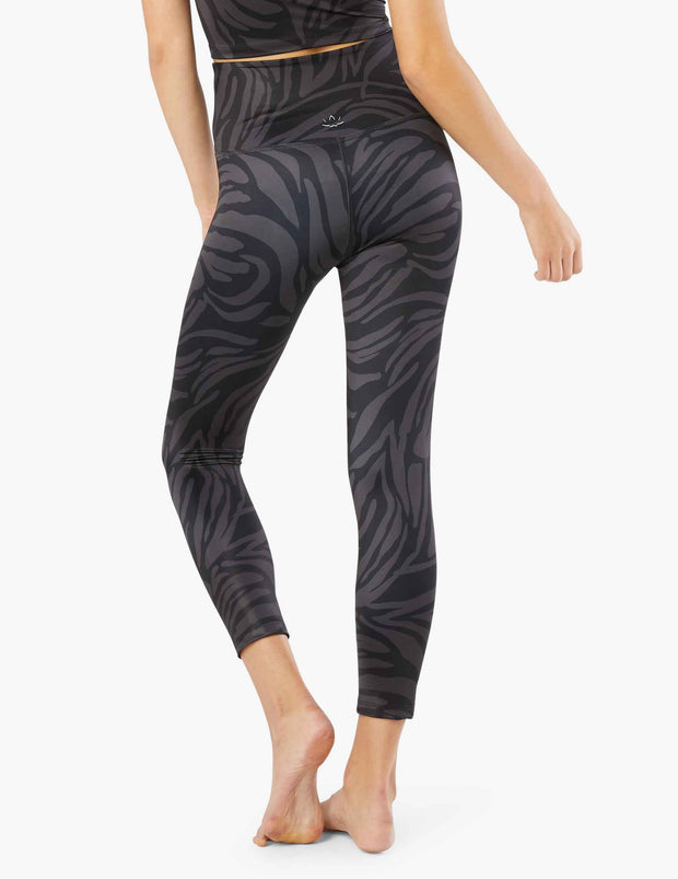 Lux Tiger High Waisted Midi Legging