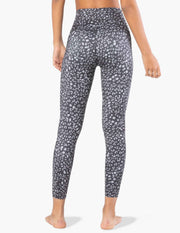Lux Star Leopard High Waisted Midi Legging