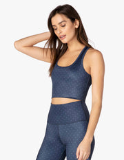 Lux First Class Cropped Tank