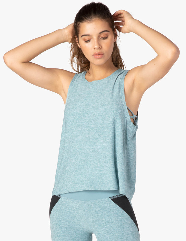 Knot So Fast Cropped Tank
