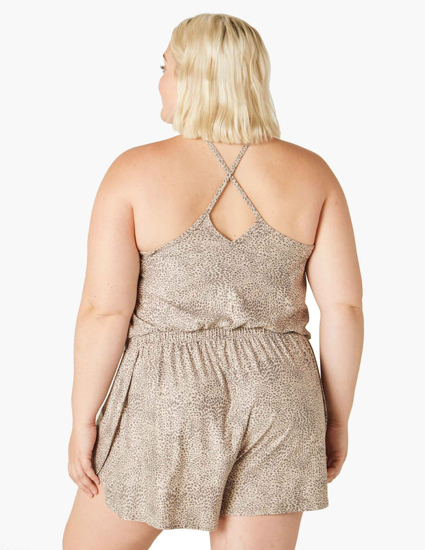 Featherweight Day & Night Sleep Romper (1X-3X)
