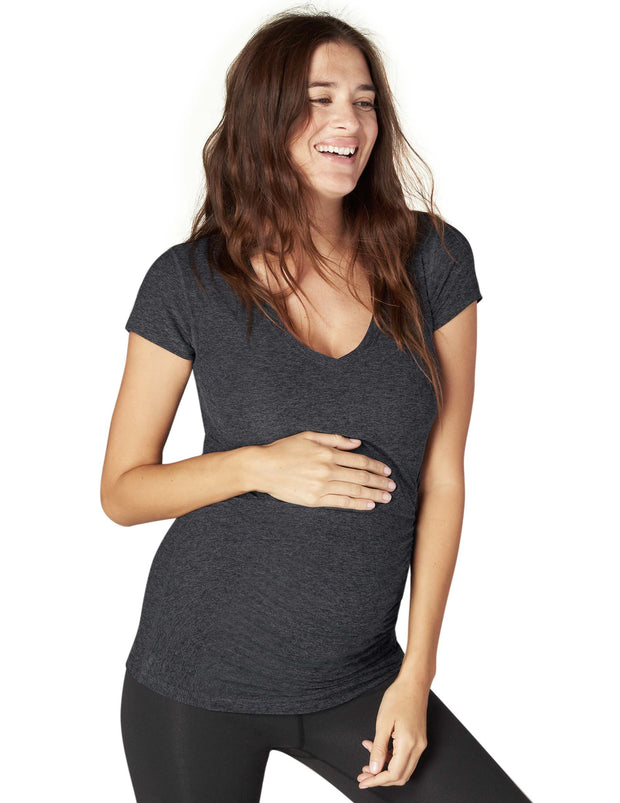 Maternity Criss-Cross Tee