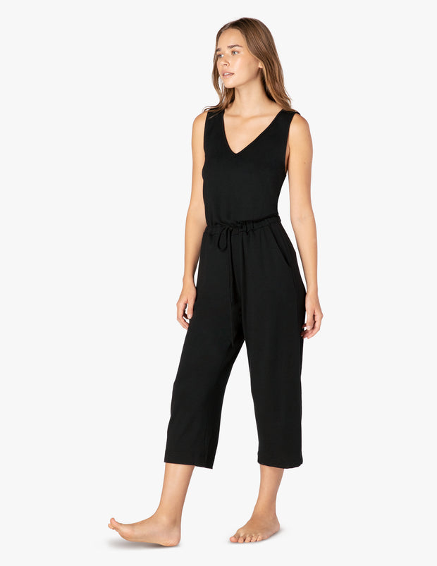 Farrah Cropped Jumpsuit