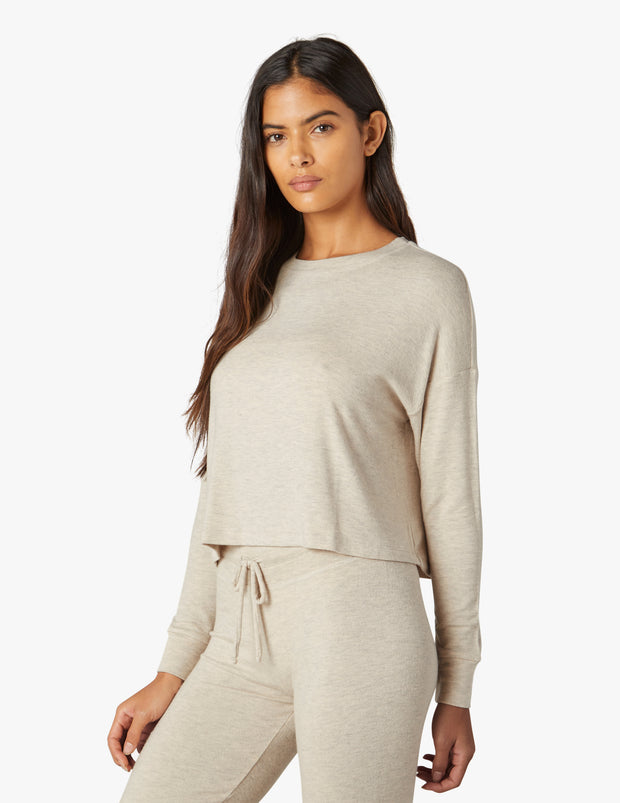 Luxe Lounger All Brushed Up Pullover