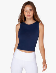 Crossroads Reversible Cropped Tank