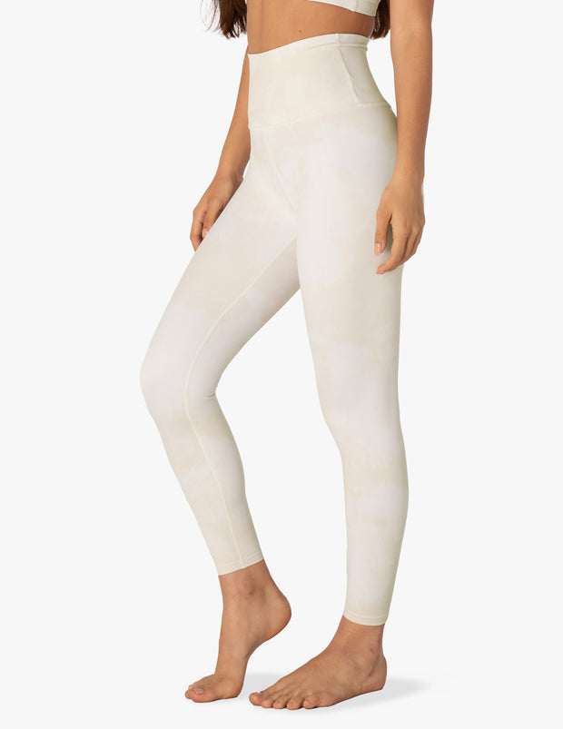 Olympus Oatmeal Smoke High Waisted Midi Legging