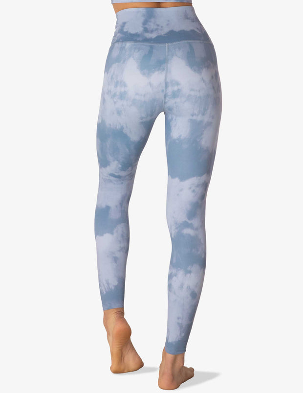 Olympus Blue Smoke High Waisted Midi Legging