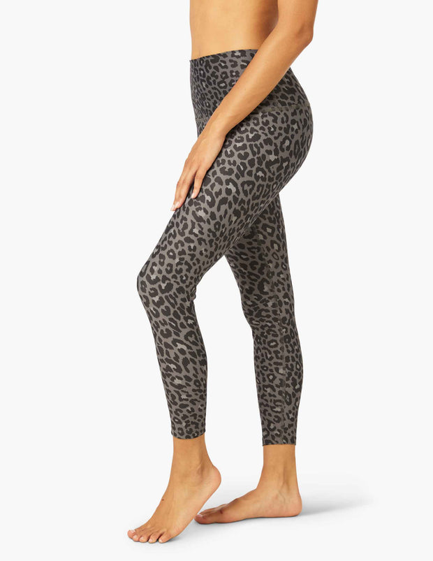 Olympus Leopard High Waisted Midi Legging