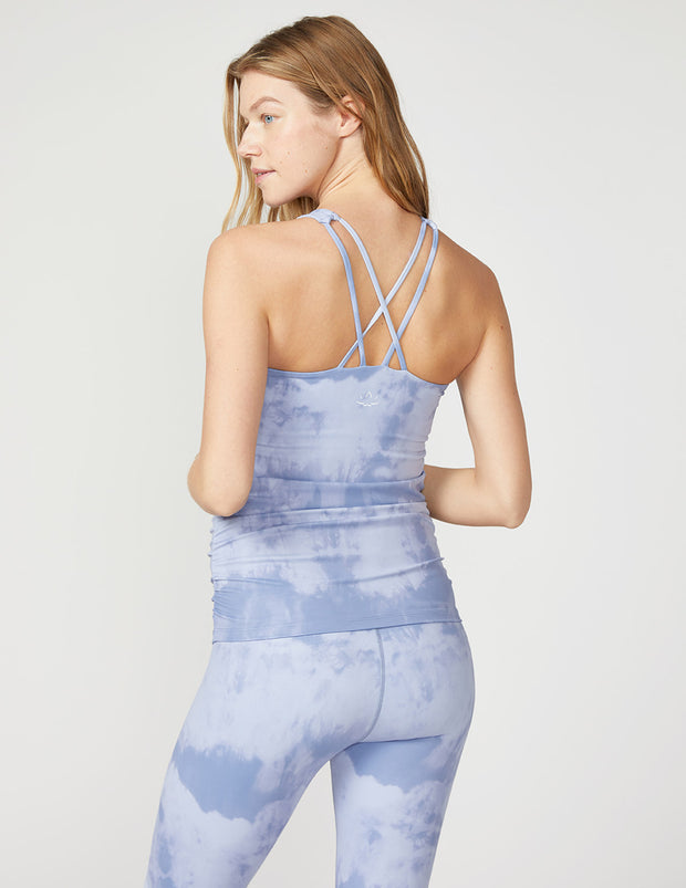 Back At You Shirred Maternity Tank