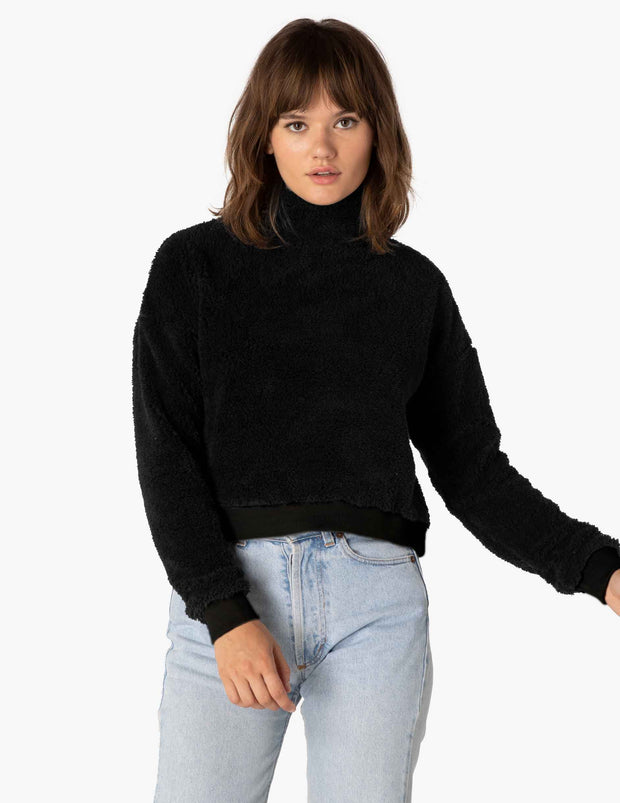 All Time Cropped Pullover
