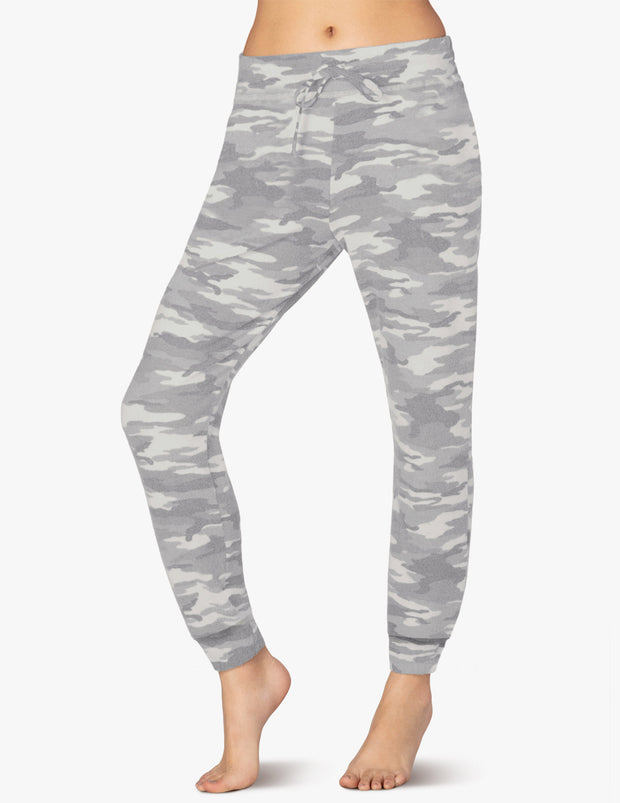 Camo Printed Lounge Around Jogger