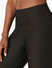 Pintuck High Waisted Midi Legging