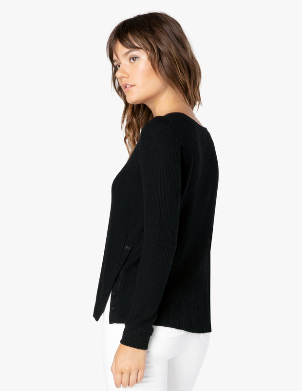 Your Line Buttoned Pullover