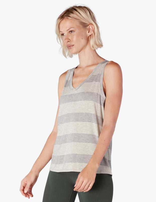 Plain And Simple V-Neck Tank
