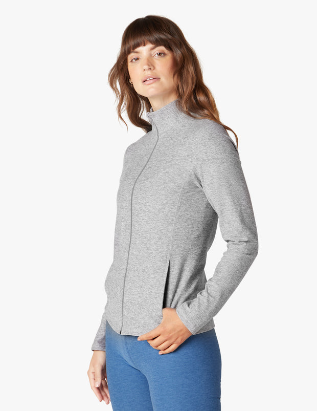 On the Go Mock Neck Jacket