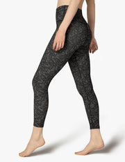 Lace Spacedye High Waisted Midi Legging