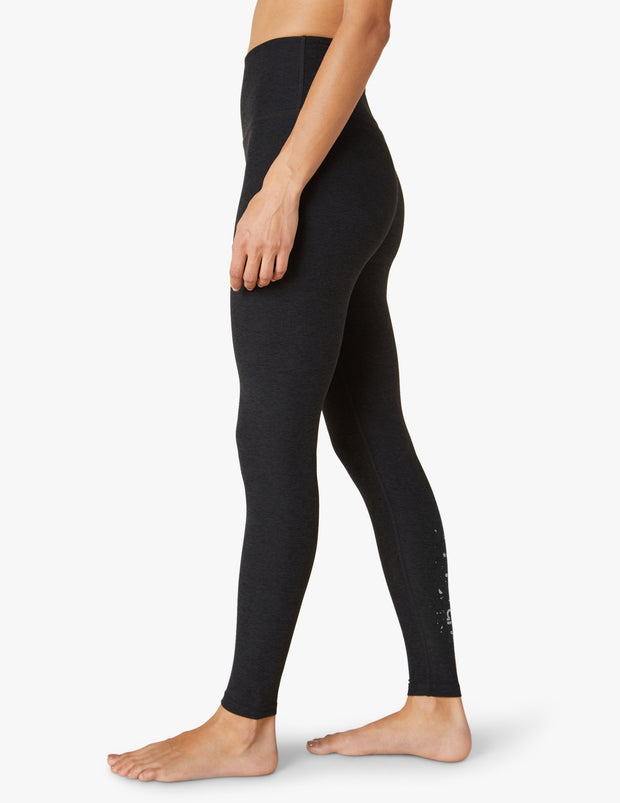 Libra Spacedye Caught In The Midi High Waisted Legging