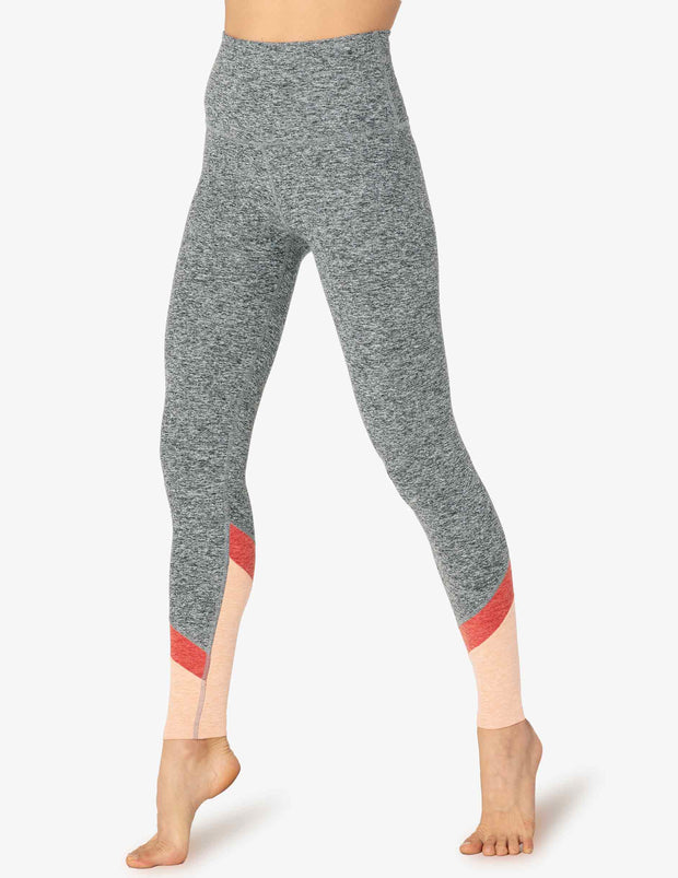Spacedye Color In High Waisted Long Legging