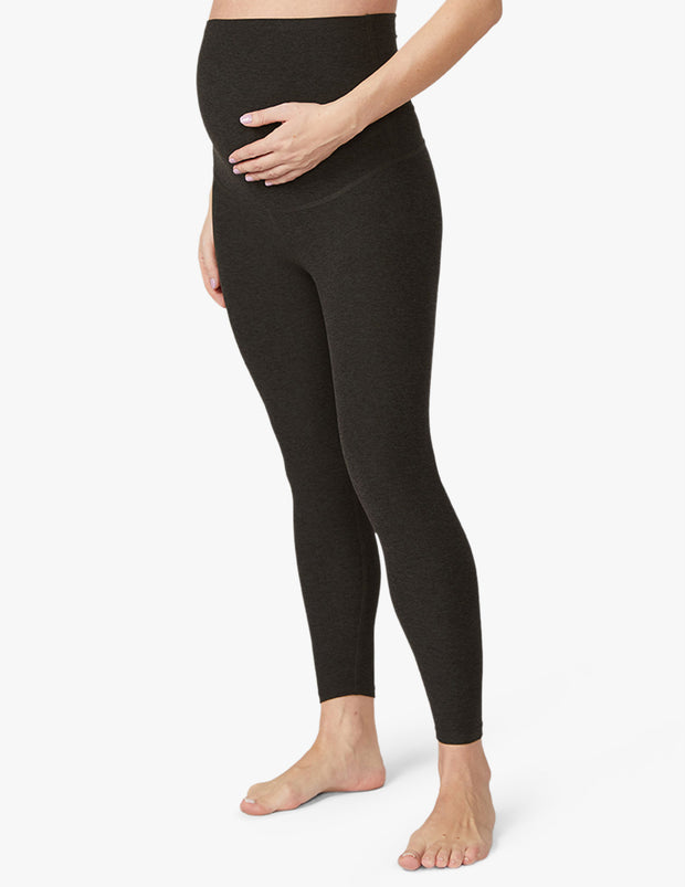Spacedye Love the Bump Midi Maternity Legging