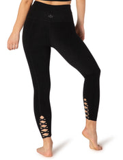 Spacedye Brightside High Waisted Midi Legging