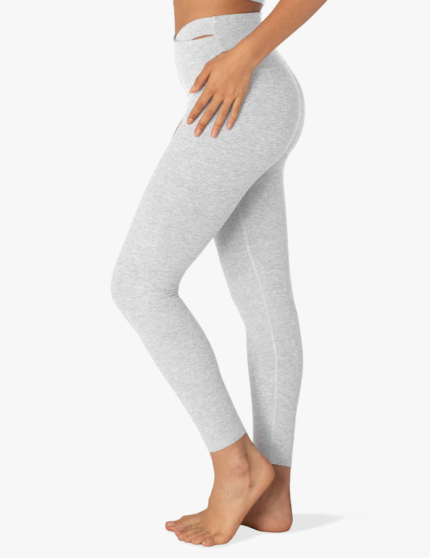 Spacedye That' A Wrap High Waisted Midi Legging