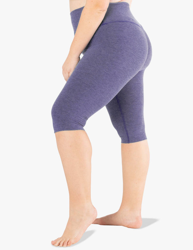 Spacedye Pedal Pusher High Waisted Legging (1X-3X)