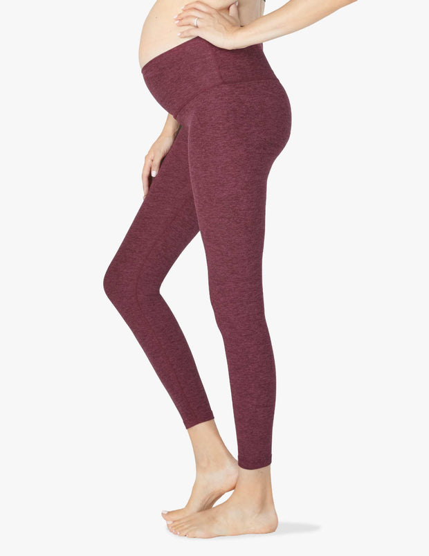 Spacedye Love the Bump Maternity Pocket Midi Legging