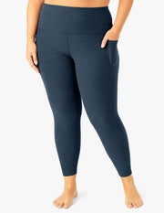 Spacedye Out Of Pocket High Waisted Midi Legging (1X-3X)