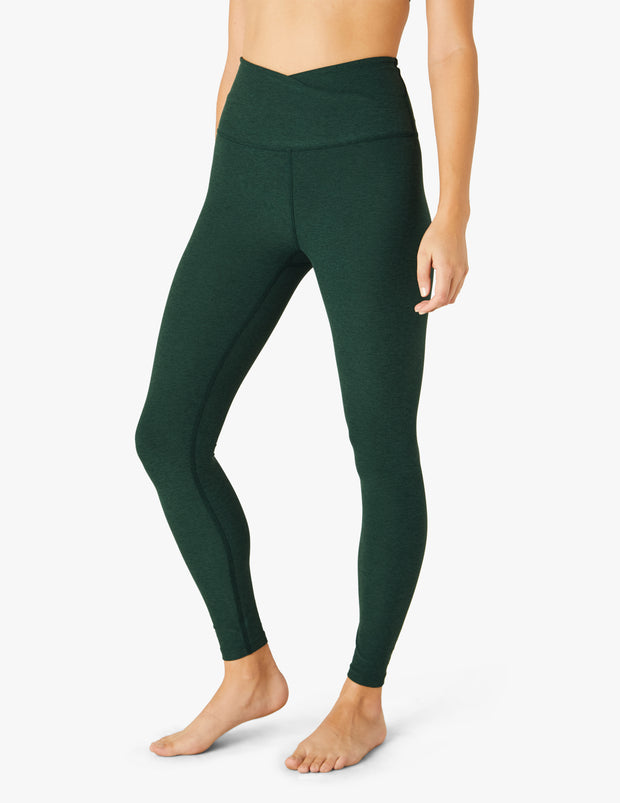 Spacedye At Your Leisure High Waisted Midi Legging