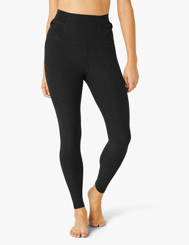 Twist Through High Waisted Midi Legging