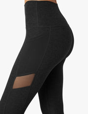 Mesh With It High Waisted Midi Legging