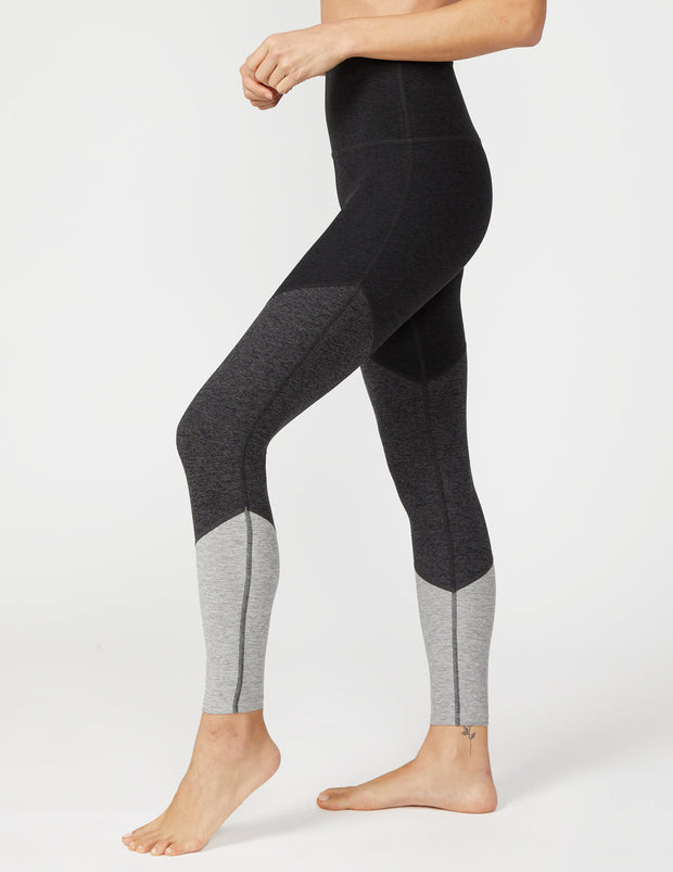 Spacedye Color Trio High Waisted Midi Legging