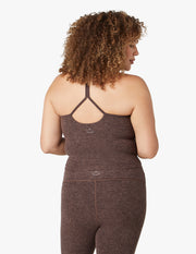 Spacedye Slim Racerback Cropped Tank (1X-4X)