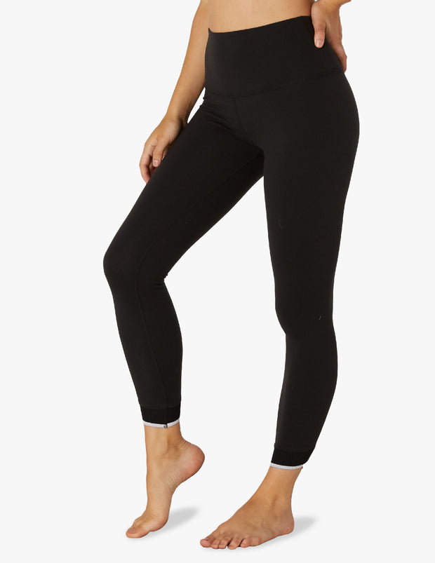 Crossed For Words High Waisted Midi Legging