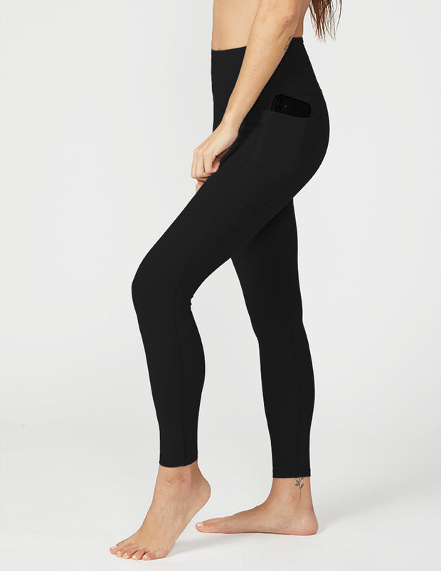 Supplex Out Of Pocket High Waisted Midi Legging